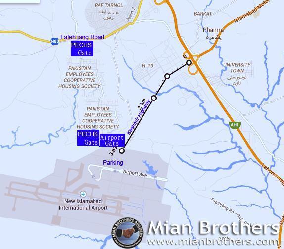 6 11 Kanal Plot For Hospital At M Block- PECHS - Opposite